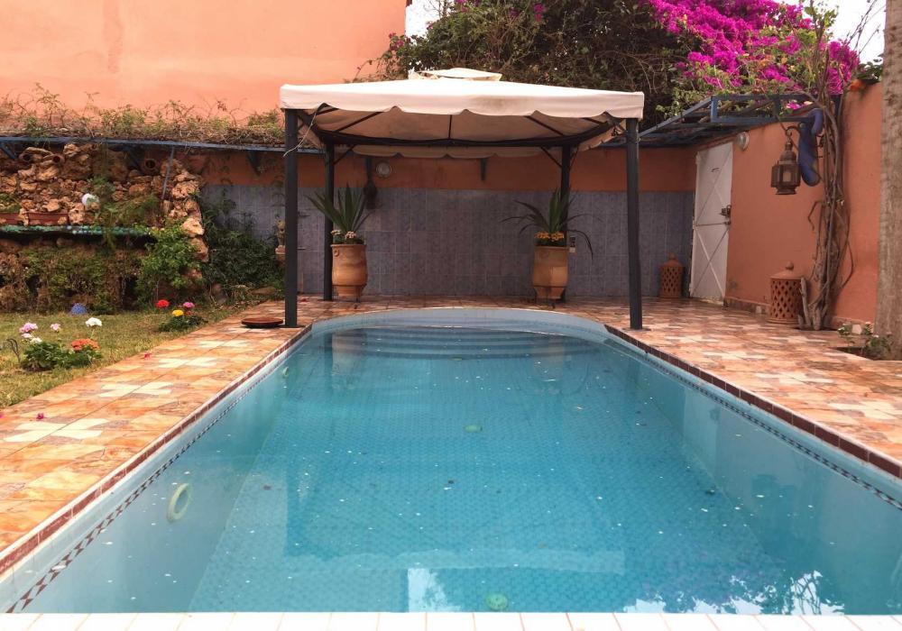 Villa maison en location marrakech 20000 dh - Location maison avec piscine marrakech ...