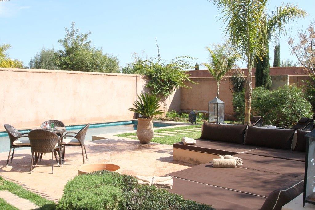 Villa maison en location marrakech prix appliqu dh - Location maison avec piscine marrakech ...